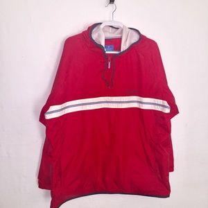 Windbreaker Lined hoodie Size XL